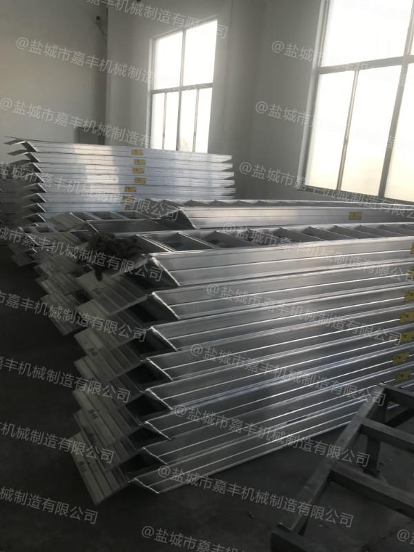 载重10吨月台小型铝合金登车桥设计图纸