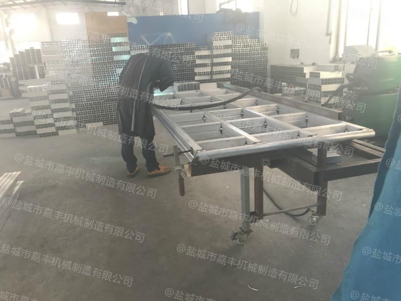 载重10吨商场流动铝合金登车桥尺寸