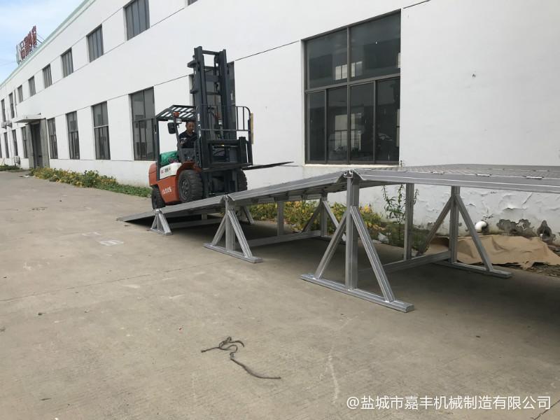 货物组合式液压固定清苑卸货平台图片