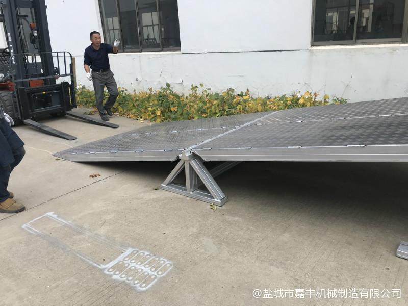 地面流动液压清苑卸货平台特种设备