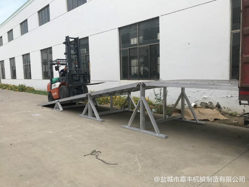 汽车拼装式液压移动清苑装卸平台尺寸