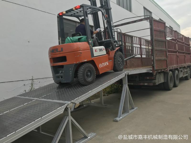 集装箱拼装式固定液压清苑卸货平台价格