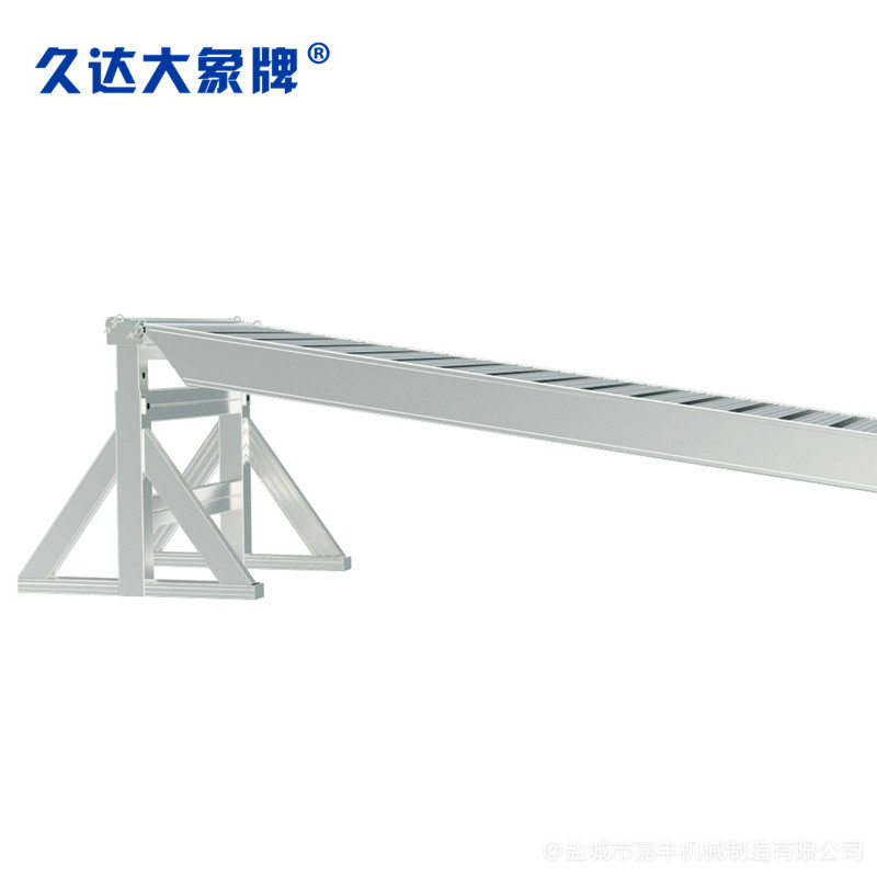 月台手动液压式固定登车桥视频